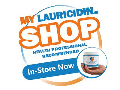 Lauricidin Shop Buttons and Badges